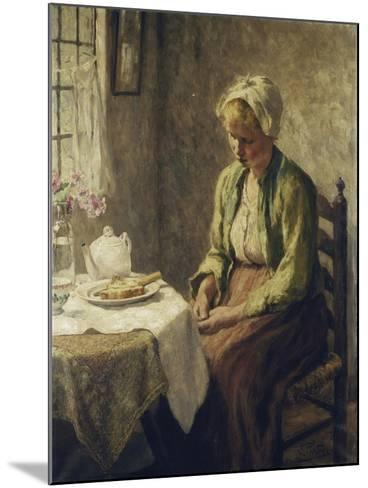 Grace before the Meal-Evert		 Pieters-Mounted Giclee Print