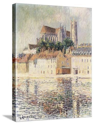 Cathedrale d'Auxerre-Gustave		 Loiseau-Stretched Canvas Print