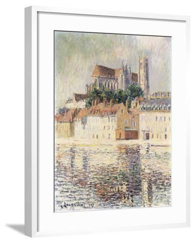 Cathedrale d'Auxerre-Gustave		 Loiseau-Framed Art Print