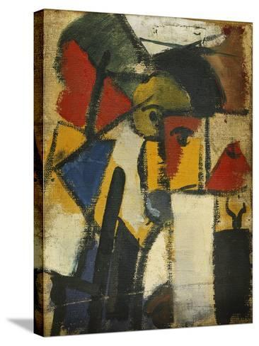 Head-Theo Doesburg-Stretched Canvas Print