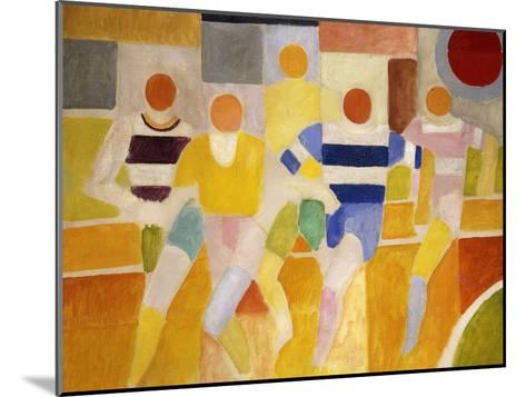 The Runners-Robert Delaunay-Mounted Giclee Print