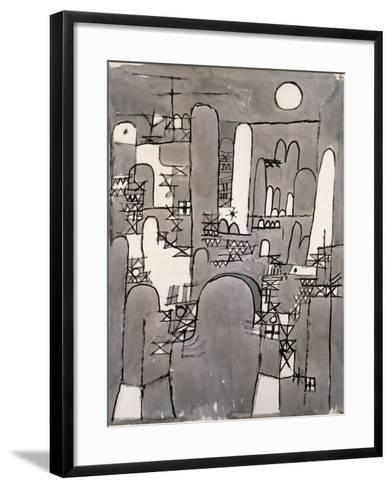 The Tower-Paul Klee-Framed Art Print