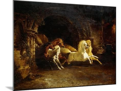 Duncan's Horses-John Frederick Herring I-Mounted Giclee Print