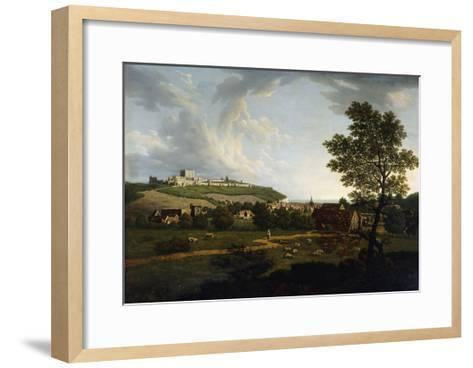 An Extensive View of Dover and Dover Castle-Arthur Nelson-Framed Art Print