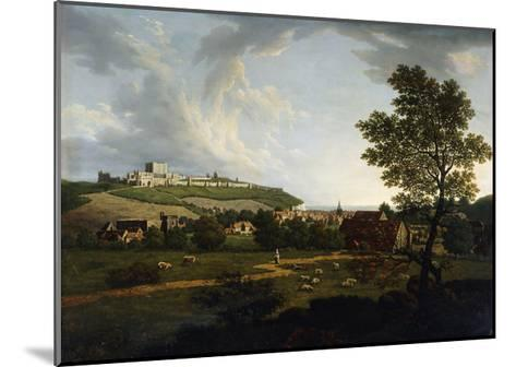 An Extensive View of Dover and Dover Castle-Arthur Nelson-Mounted Giclee Print