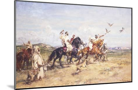 The Falcon Chase-Henri Emilien Rousseau-Mounted Giclee Print