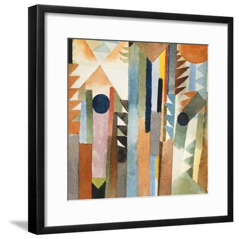 The Forest that Grew from the Seed-Paul Klee-Framed Art Print