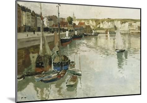Dieppe-Frits Thaulow-Mounted Giclee Print