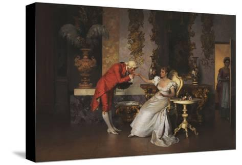 The Suitor-Francesco		 Beda-Stretched Canvas Print