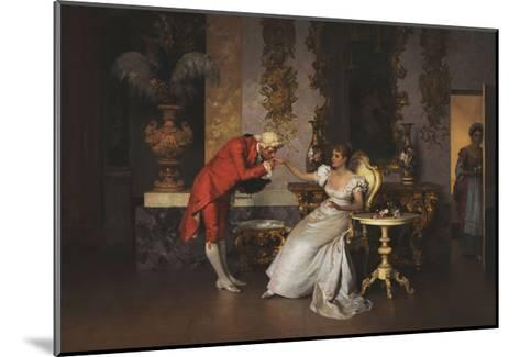 The Suitor-Francesco		 Beda-Mounted Giclee Print