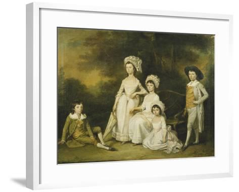 The Mordaunt Family-Lewis Vaslet-Framed Art Print