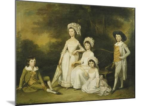 The Mordaunt Family-Lewis Vaslet-Mounted Giclee Print