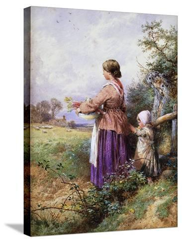 Returning Home-Myles Birket Foster-Stretched Canvas Print