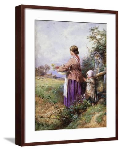 Returning Home-Myles Birket Foster-Framed Art Print
