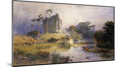 Thirlwall Castle, Northumberland-Henry George Hine-Mounted Giclee Print