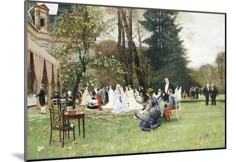 The Wedding, Fontainebleu-Charles Edouard Delort-Mounted Giclee Print
