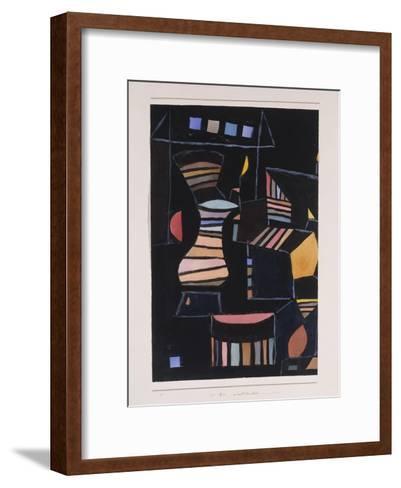 Kunstlicher Hof-Paul Klee-Framed Art Print