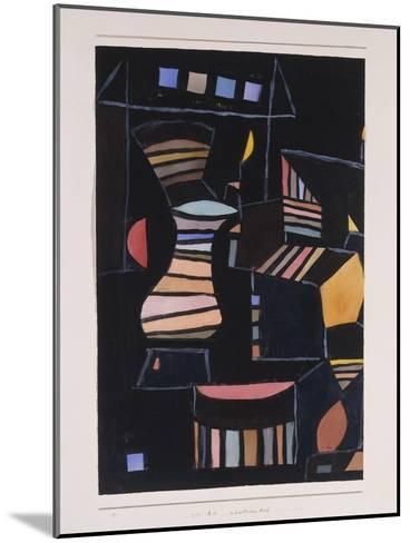 Kunstlicher Hof-Paul Klee-Mounted Giclee Print