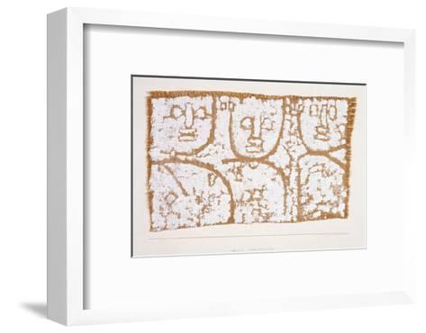 Three Figures-Paul Klee-Framed Art Print