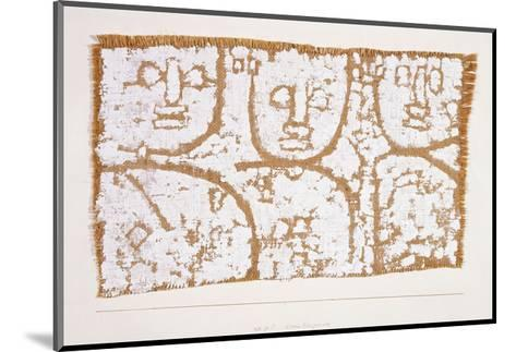 Three Figures-Paul Klee-Mounted Giclee Print