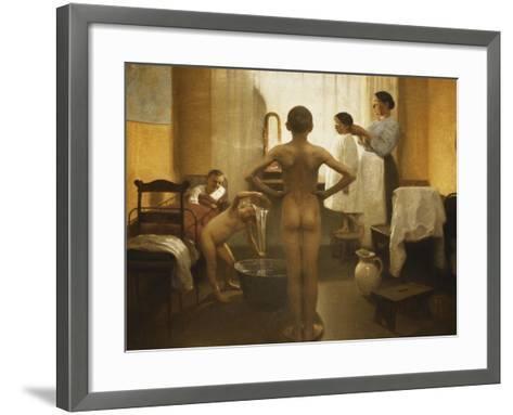 Bath Time-Carl Vilhelm Meyer-Framed Art Print