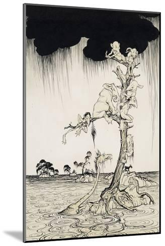 'The Animals You Know Are Not As They Are Now'-Arthur Rackham-Mounted Giclee Print