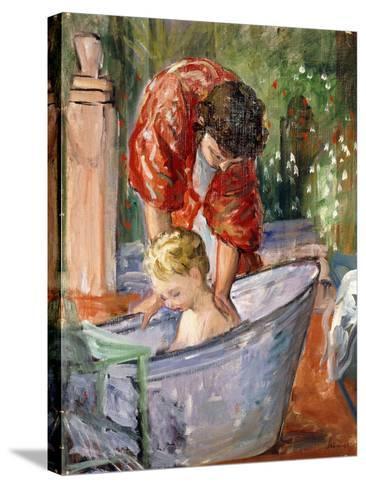 The Bath-Henri Lebasque-Stretched Canvas Print