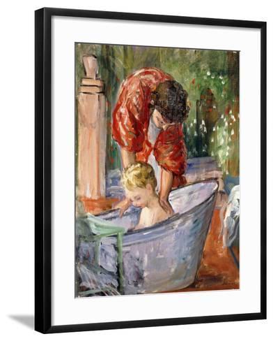 The Bath-Henri Lebasque-Framed Art Print