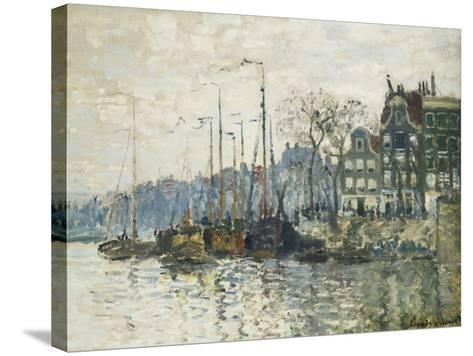 Amsterdam-Claude Monet-Stretched Canvas Print