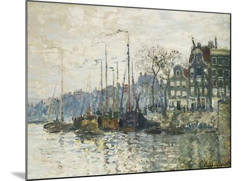 Amsterdam-Claude Monet-Mounted Giclee Print