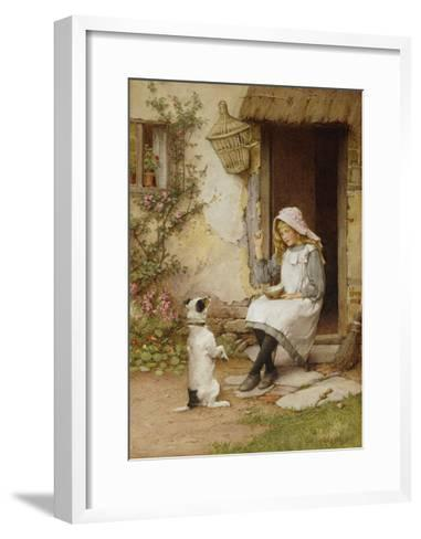 A Mute Appeal-Charles Edward Wilson-Framed Art Print