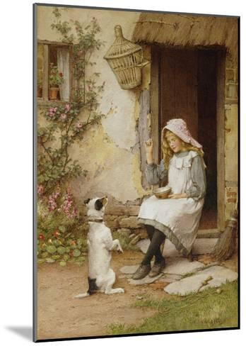 A Mute Appeal-Charles Edward Wilson-Mounted Giclee Print