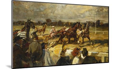 Trotting, Hoppe-Garden, Berlin--Mounted Giclee Print