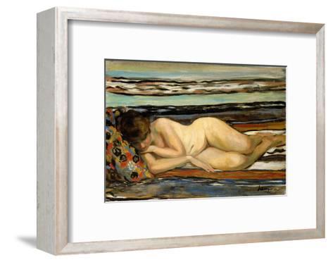 Nude Woman Sleeping-Henri Lebasque-Framed Art Print