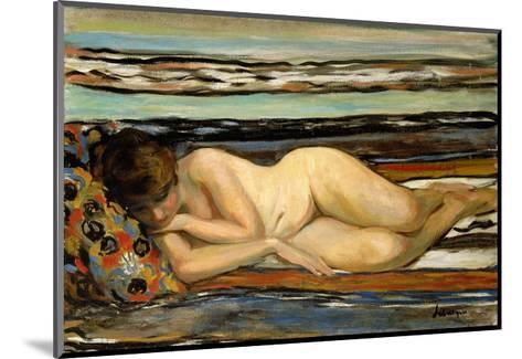 Nude Woman Sleeping-Henri Lebasque-Mounted Giclee Print