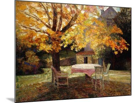 The Terrace, Autumn-Victor Charreton-Mounted Giclee Print