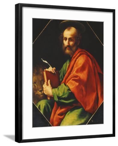 Saint Mark-Carlo Dolci-Framed Art Print