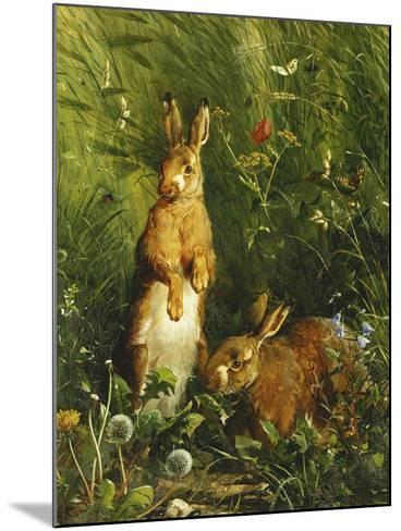Hares-Olaf August		 Hermansen-Mounted Giclee Print
