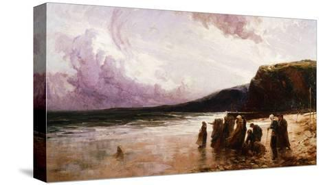 Anxious Hearts-Howgate William Arthur-Stretched Canvas Print