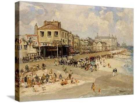 Punch and Judy Show, Hastings-Godwin Bennett-Stretched Canvas Print