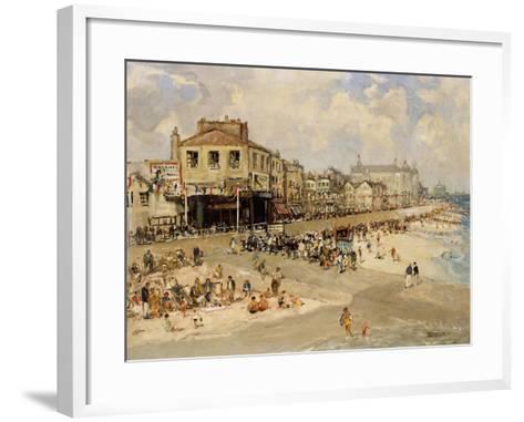 Punch and Judy Show, Hastings-Godwin Bennett-Framed Art Print