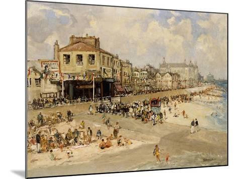 Punch and Judy Show, Hastings-Godwin Bennett-Mounted Giclee Print