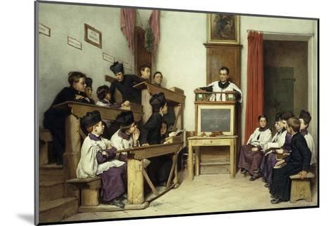 The Latin Class-Ludwig Passini-Mounted Giclee Print