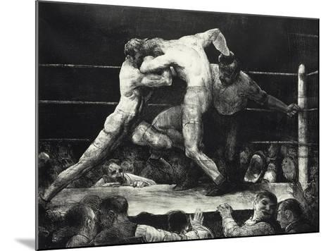 A Stag at Sharkey's-George Wesley Bellows-Mounted Giclee Print
