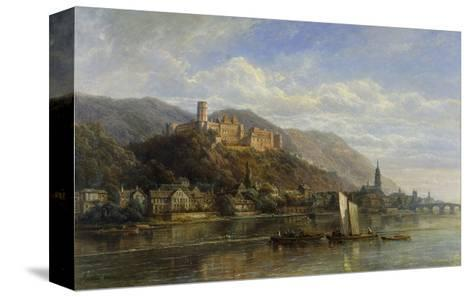 Heidelberg-Pierre Justin Ouvrie-Stretched Canvas Print