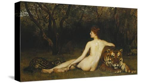 Circe-John Collier-Stretched Canvas Print