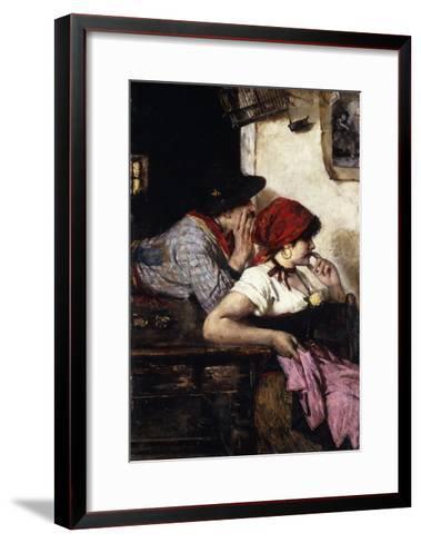 The Gypsy Couple-Ernest-Joseph Laurent-Framed Art Print