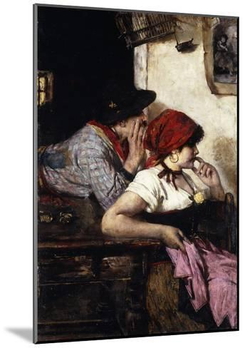 The Gypsy Couple-Ernest-Joseph Laurent-Mounted Giclee Print