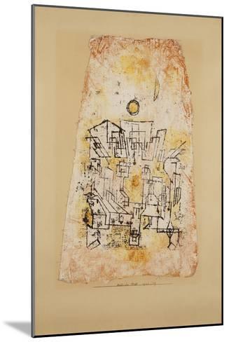 Arabian City; Arabische Stadt-Paul Klee-Mounted Giclee Print