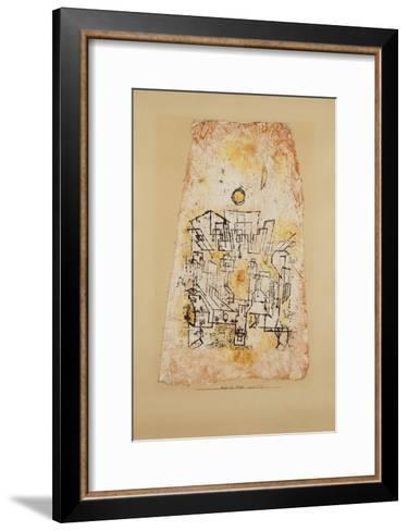 Arabian City; Arabische Stadt-Paul Klee-Framed Art Print